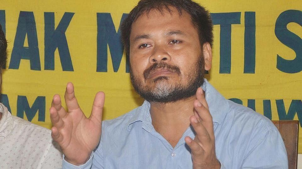 अखिल गोगोई सिवसागार विधानसभा सीट से निर्दलीय उम्मीदवार हैं