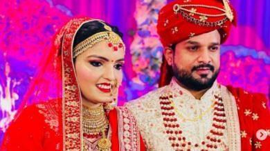 जन्मदिन पर शादी के बंधन में बंधे भोजपुरी सुपरस्टार रितेश पांडे