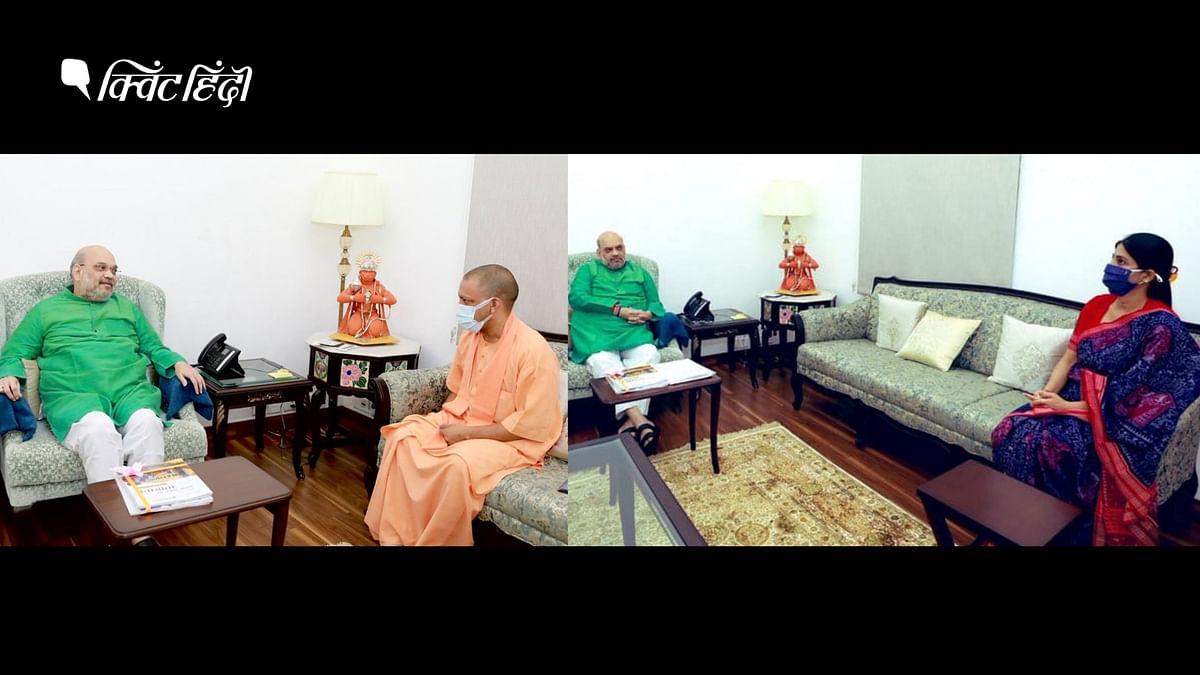 दिल्ली में गृहमंत्री के साथ बैठकों का दौर, फोकस में 'उत्तर प्रदेश'