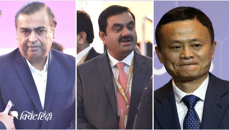 एशिया के सबसे अमीर बिजनेसमैन बने अंबानी और अडानी