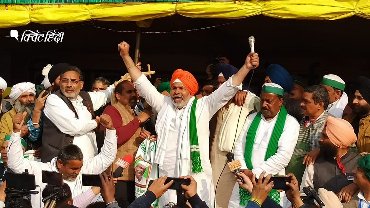 """<div class=""""paragraphs""""><p>राकेश टिकैत ने पश्चिम बंगाल चुनावों में बीजेपी का किया था विरोध</p></div>"""