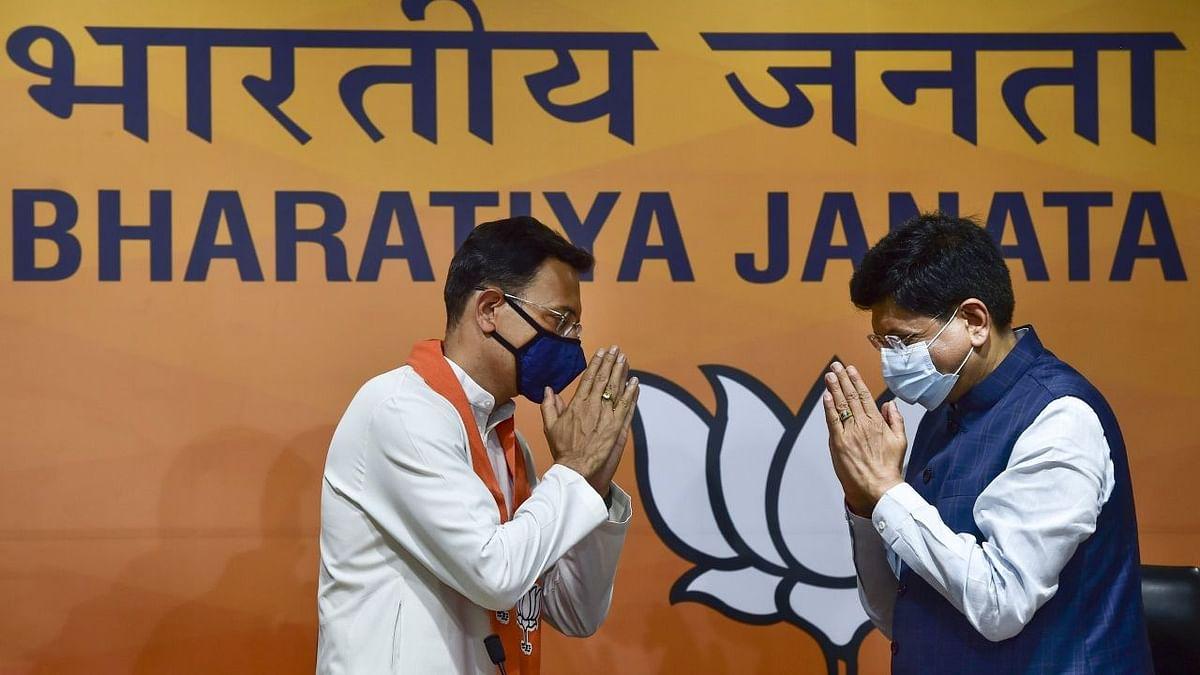 कांग्रेस नेता जितिन प्रसाद आज बीजेपी में शामिल हो गए हैं