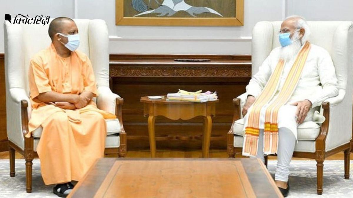 """<div class=""""paragraphs""""><p>10-11 जून को योगी ने शाह, मोदी, नड्डा और राष्ट्रपति से मुलाकात की</p></div>"""