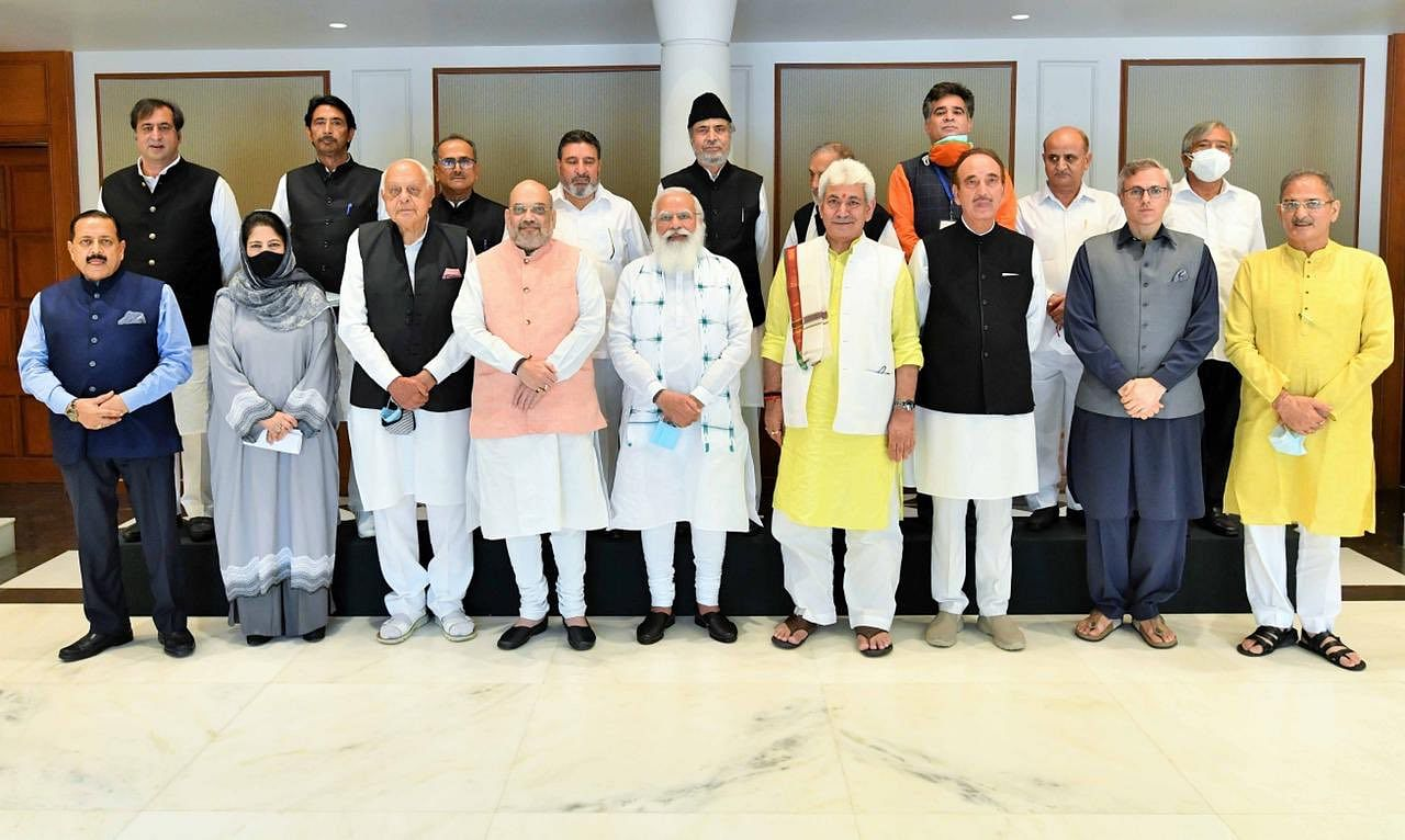 Jammu Kashmir Leaders PM Modi|  There is no official agenda for the meeting