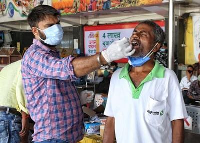 भारत में 24 घंटे में कोरोना के 41,383 नए केस, 507 लोगों की मौत