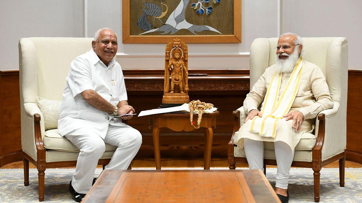 पीएम से मुलाकात के बाद कर्नाटक में नेतृत्व बदलाव पर क्या बोले येदियुरप्पा?