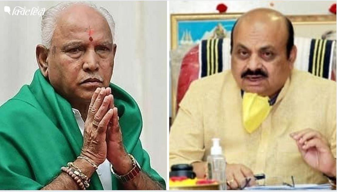 कर्नाटक में मंत्रियों की नाराजगी के बीच CM बोम्मई ने येदियुरप्पा से की मुलाकात