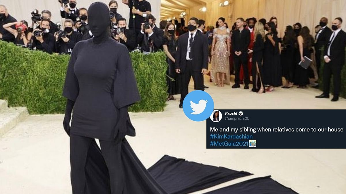 Met Gala में किम कार्दशियन का लुक मीमर्स का फेवरेट, करीना ने भी किया रिएक्ट