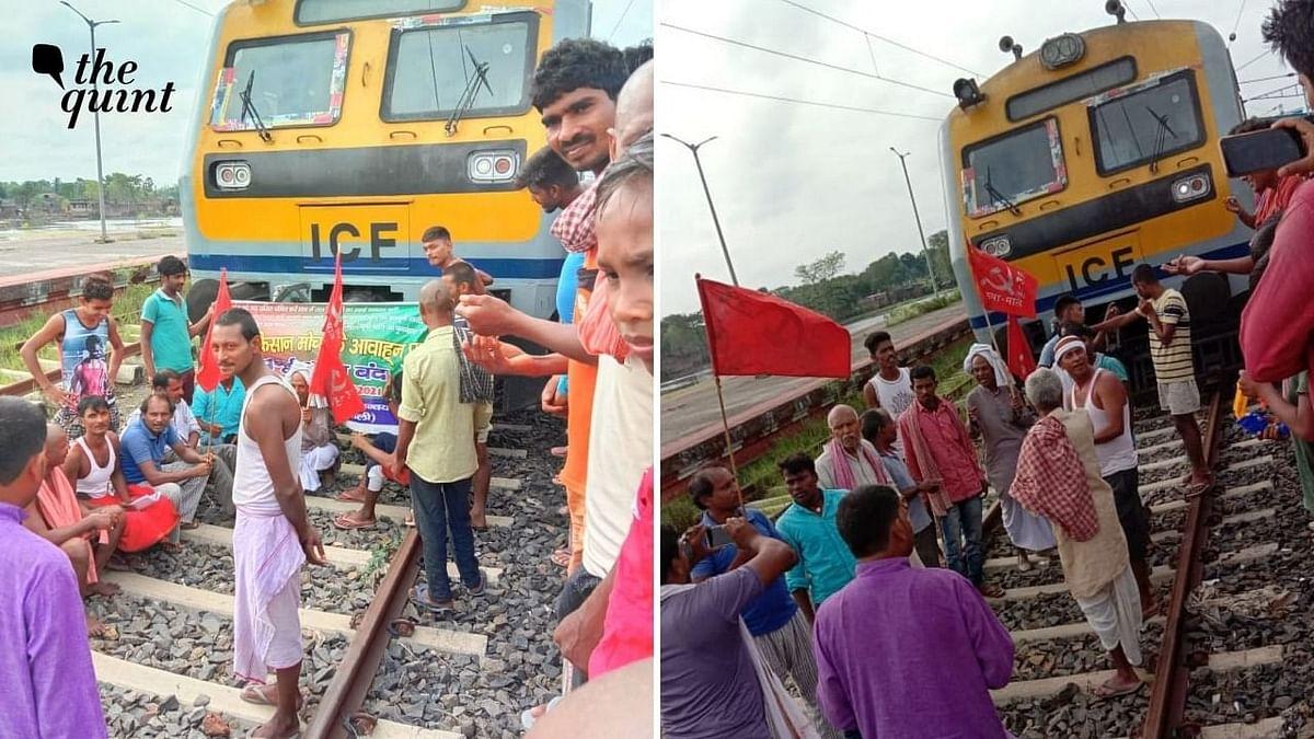 रेल रोको आंदोलन का असर, राजस्थान से लेकर हरियाणा में पटरियों पर जमे किसान