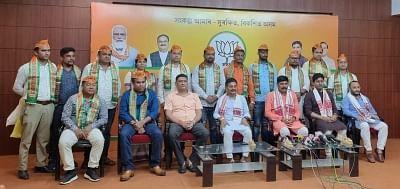 असम में विपक्षी दलों के कई नेता BJP में शामिल हुए