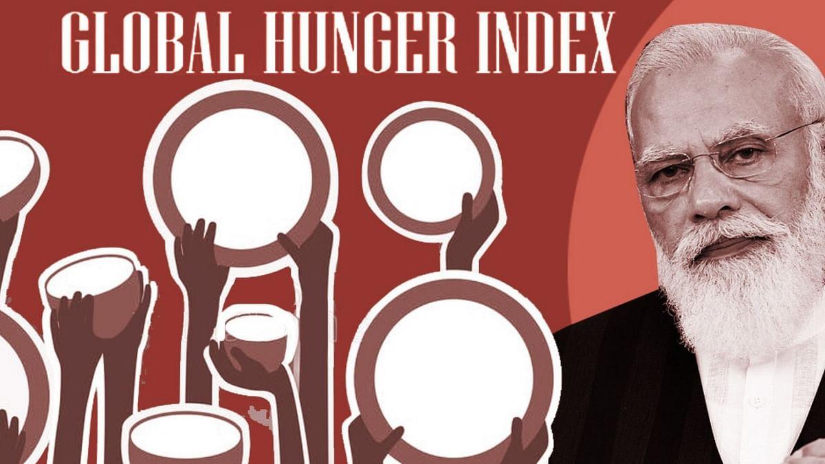 """<div class=""""paragraphs""""><p>ग्लोबल हंगर इंडेक्स में भारत की रैकिंग 101वीं है.</p></div>"""