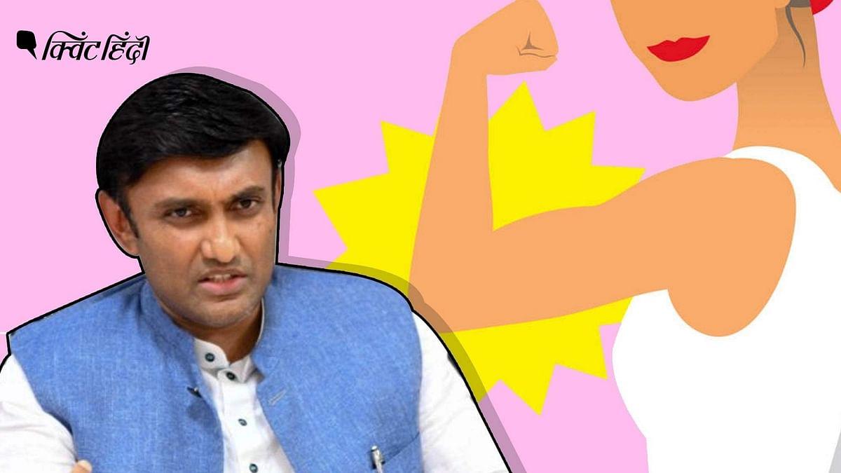 """<div class=""""paragraphs""""><p>कर्नाटक के स्वास्थ्य मंत्री के सुधाकर का मिसॉजिनिस्ट बयान</p></div>"""