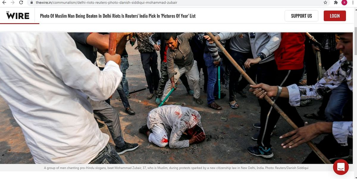 "<div class=""paragraphs""><p>ये फोटो दिल्ली दंगों के दौरान दानिश सिद्दीकी ने खींची थी</p></div>"