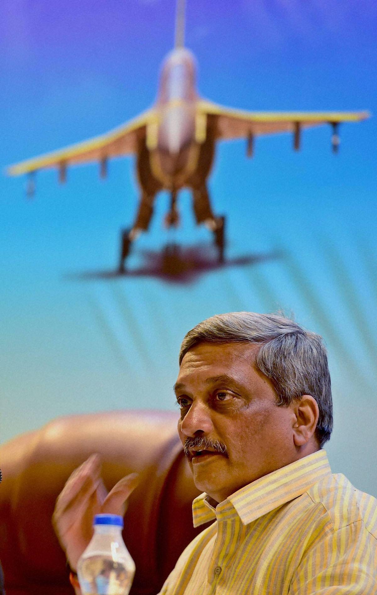 Defence Minister Manohar Parrikar. (Photo: PTI)