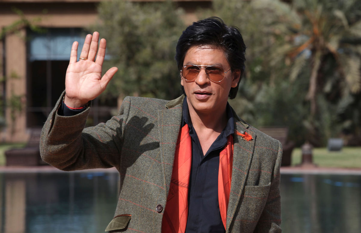 SRK has a department dedicated to doing charity work. (Photo: Reuters)