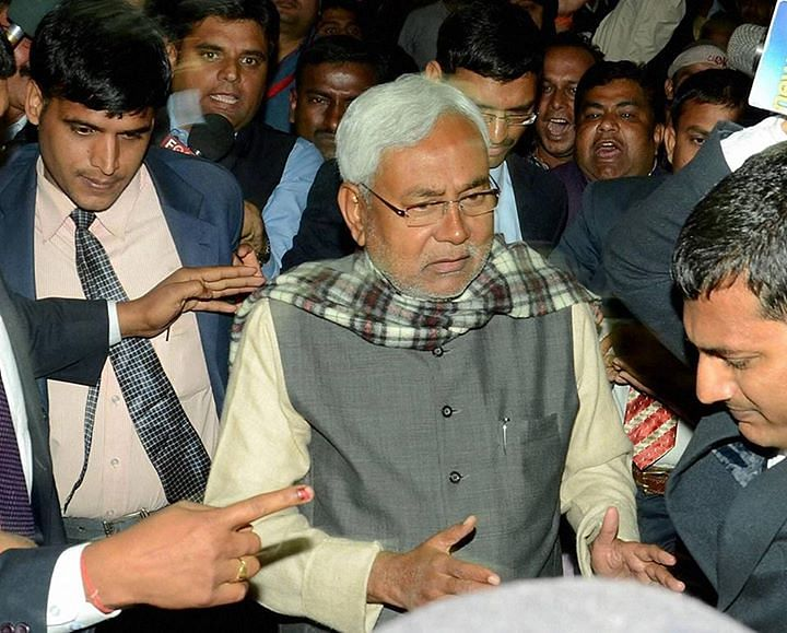 Bihar CM Nitish Kumar. (Photo: PTI)