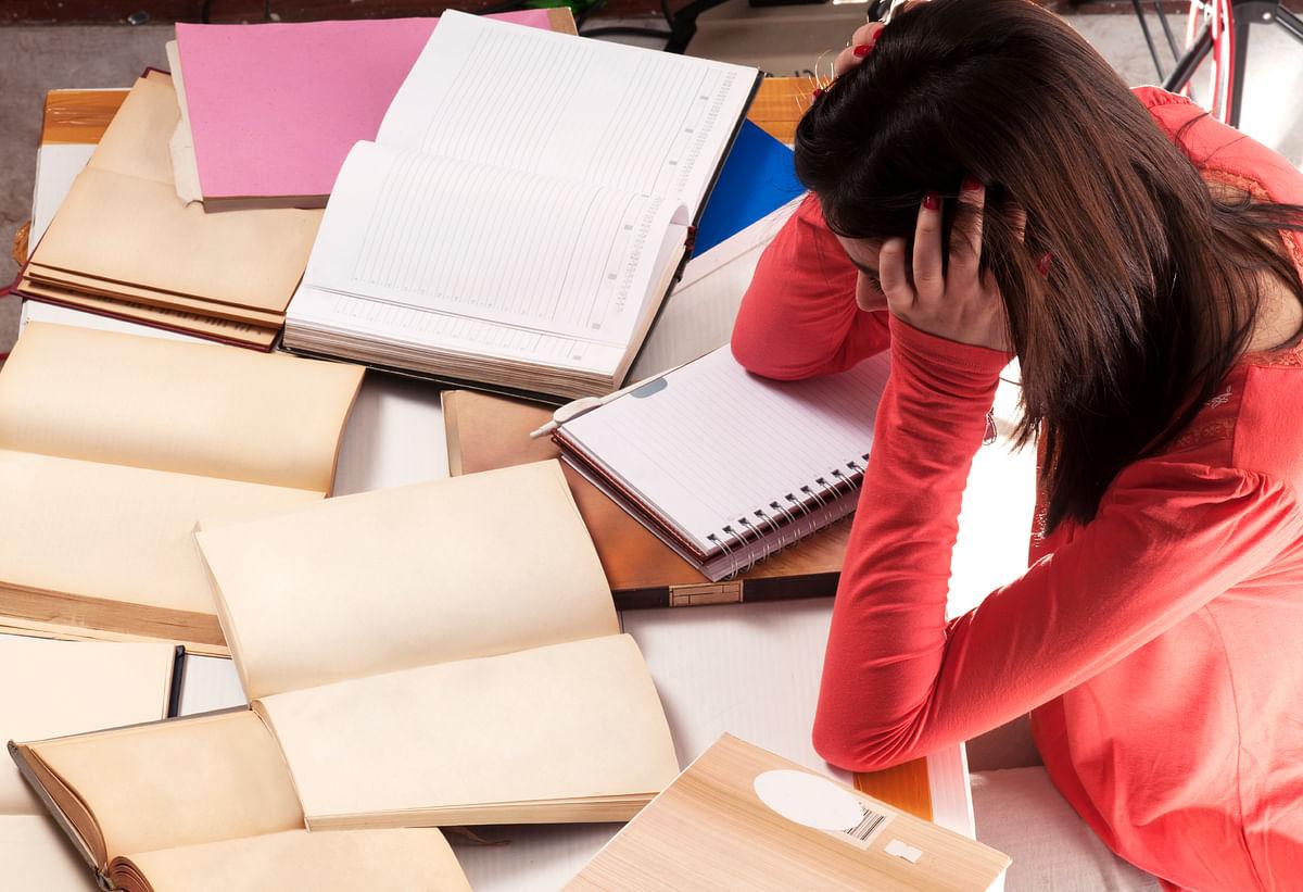 Representational image of exam stress. (Photo: iStockPhoto)