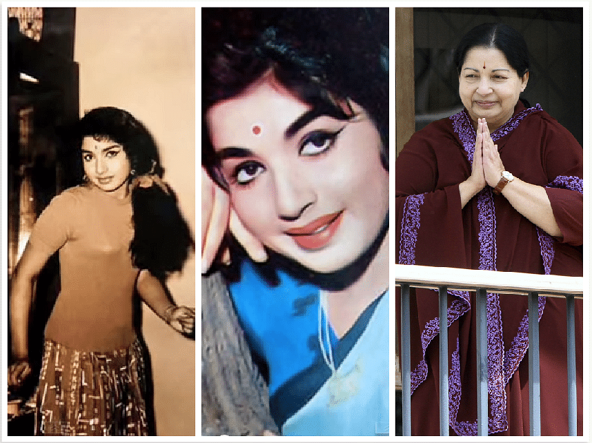 The different shades of Jayalalithaa. (Photo: Youtube/ Reuters)