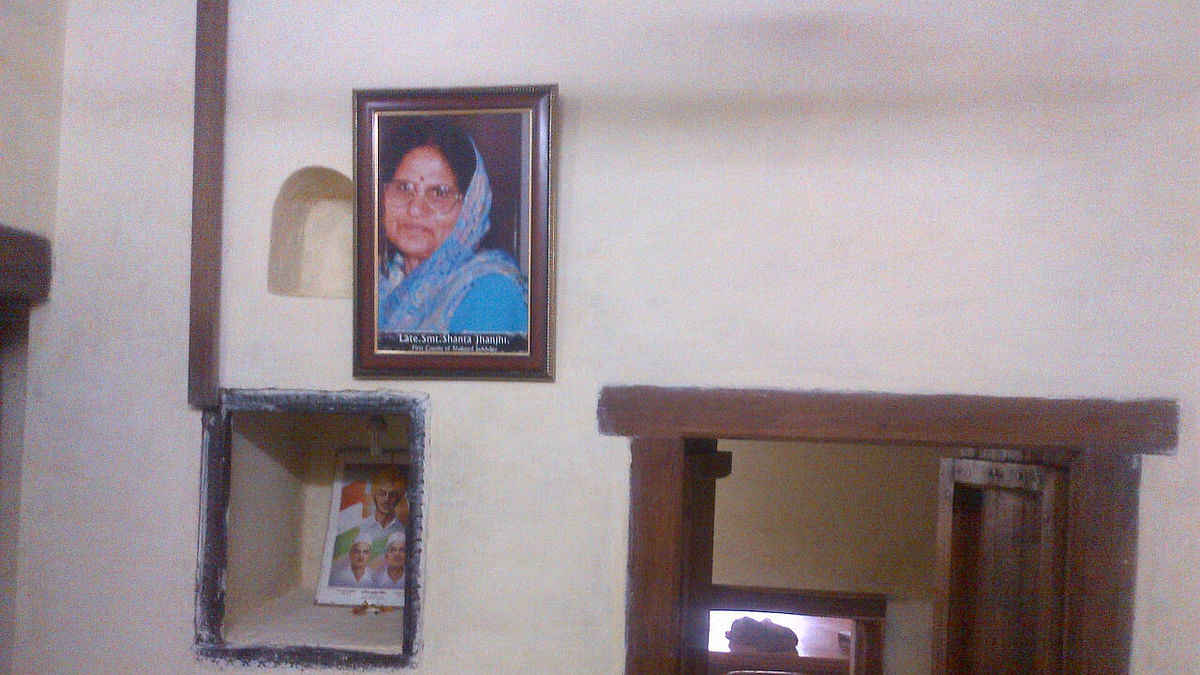 Picture of Sukhdev's first cousin Shanta Jhanjhi who visited the house on 23 March every year.