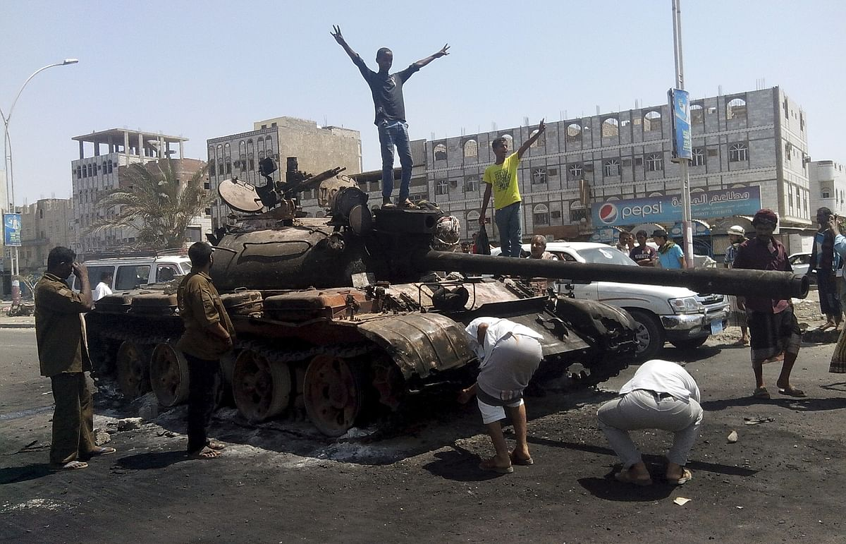 50 members of Yemen's security forces were killed in the blast.(Photo: Reuters)
