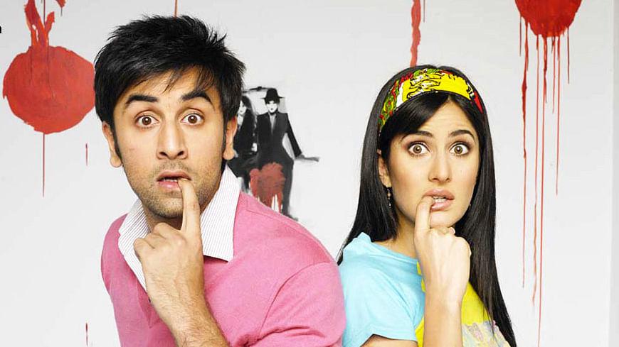 Ranbir Kapoor and Katrina Kaif in a publicity still from <i>Ajab Prem Ki Gazab Kahani</i>