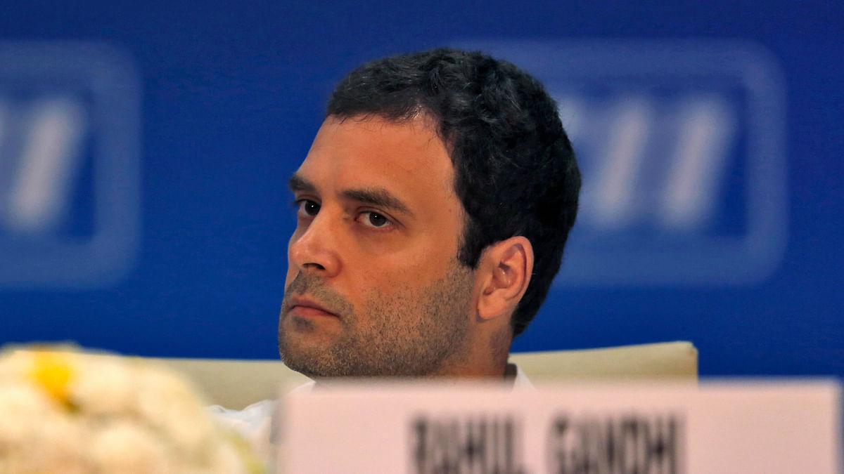 Rahul Gandhi. (Photo: Reuters)