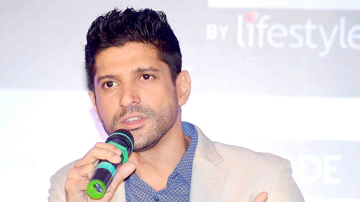 Farhan Akhtar wrote an open letter to his daughter about sexual assault in India.  (Photo: Yogen Shah)