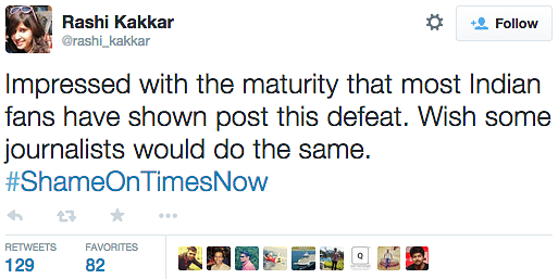 Over 2 Lakh Tweets and Counting, Say #ShameOnTimesNow