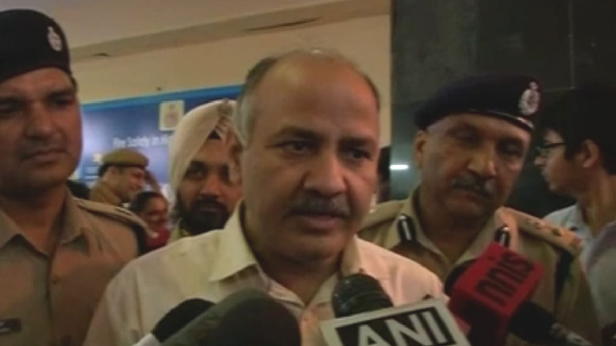 Delhi Deputy CM Manish Sisodia (Photo: ANI)