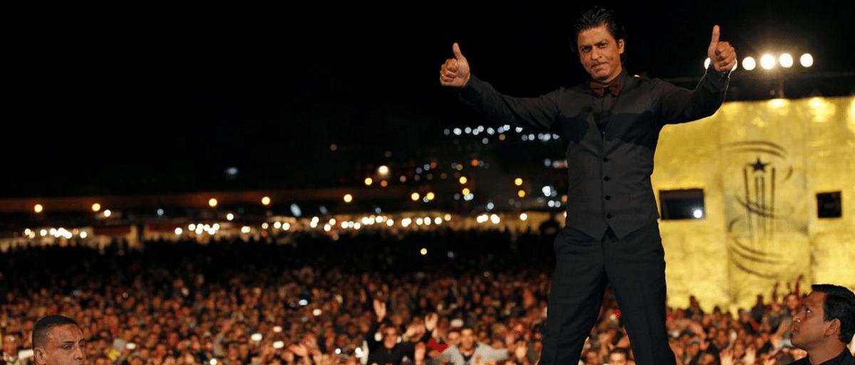 SRK reveals the stars he follows. (Photo: Reuters)