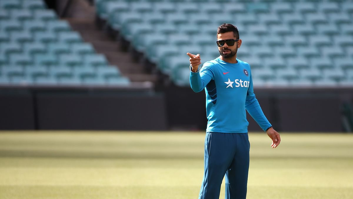Virat Kohli during a team practice session. (Photo: AP)