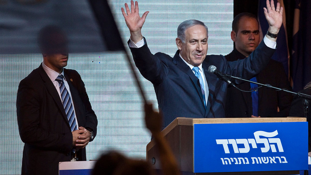 Raise your hands if your Foreign Ministry just poked the sleeping bear. Benjamin Netanyahu, Prime Minister of Israel. (Photo: Reuters)