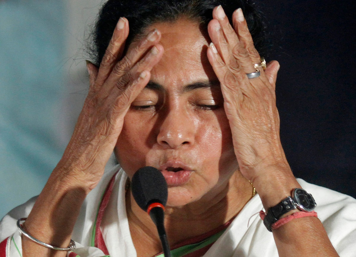 West Bengal Chief Minister Mamata Banerjee. Photo: Reuters