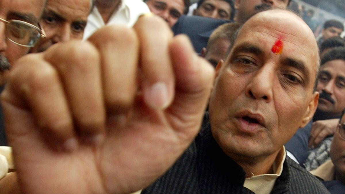 File photo of Union Home Minister Rajnath Singh. (Photo: Reuters)