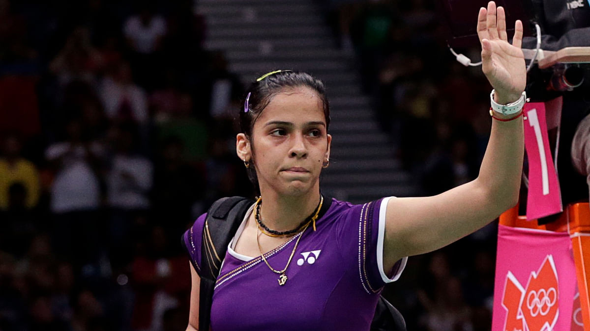 Saina Nehwal after a game in 2012(Photo: Reuters)