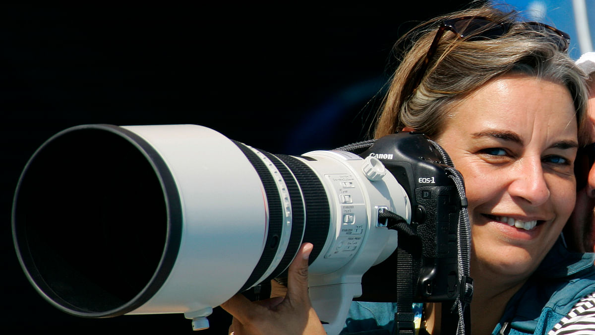 Anja Niedringhaus was the only woman on a team of 11 AP photographers that won the 2005 Pulitzer Prize for Breaking News Photography for coverage of the Iraq War. (Photo: Reuters)