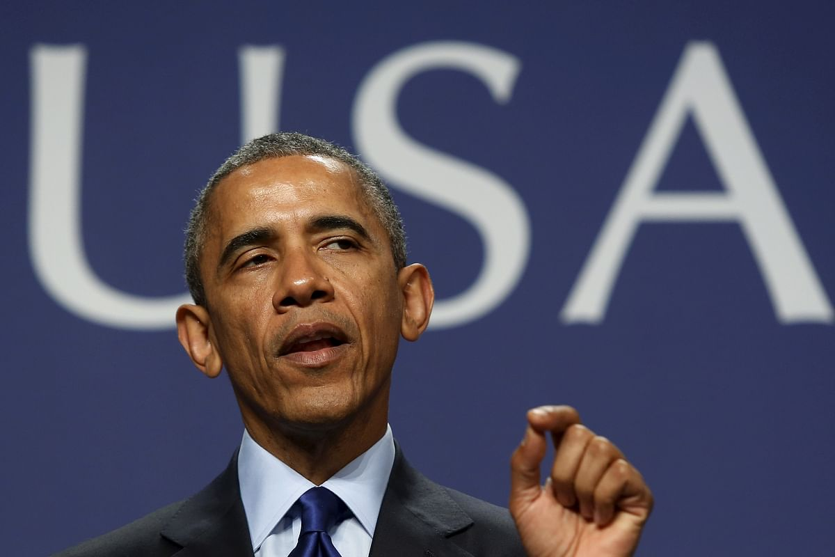 US President Barack Obama.  (Photo: Reuters)