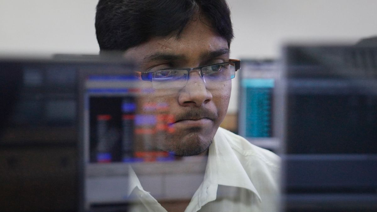 The Sensex started on a cautious note with a negative bias. (Photo: Reuters)