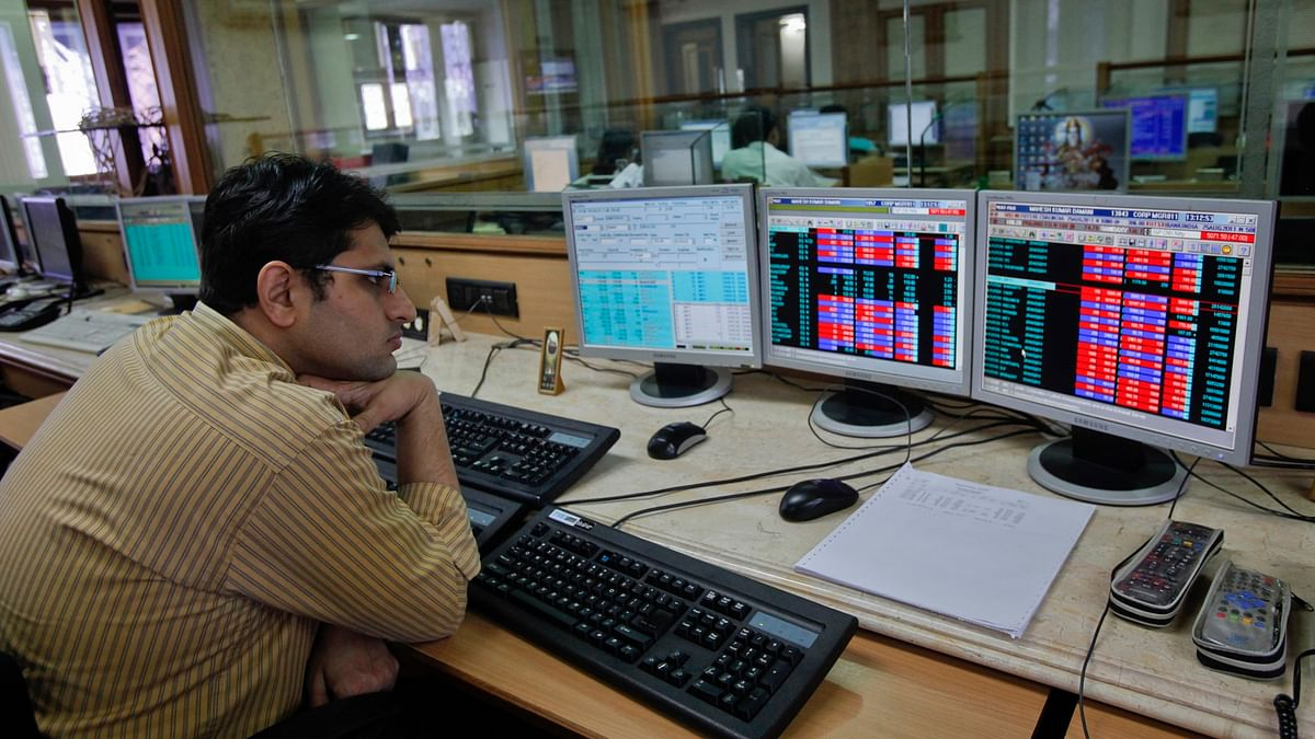 The benchmark indices were dragged lower by capital goods, consumer durables, banks and auto stocks. (Photo: Reuters)