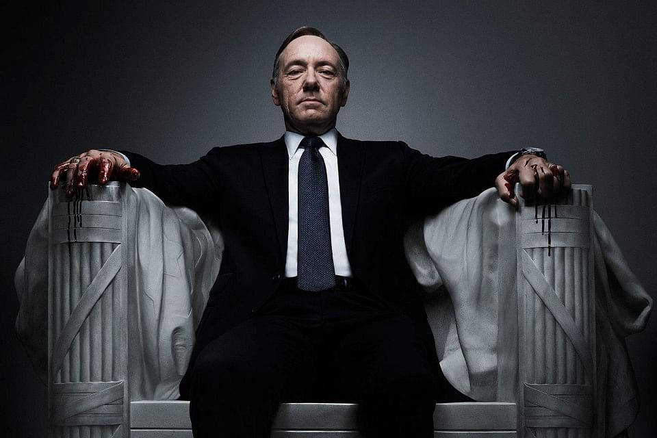 Kevin Spacey as Francis Underwood in Netflix original series House of Cards. (Photo: Netflix)