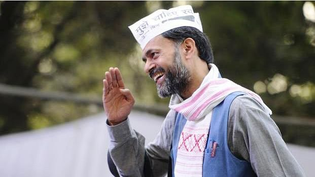 Senior Aam Aadmi Party leader Yogendra Yadav, who was recently sacked from the AAP's Political Affairs Committee is expected to be dropped as the party spokesperson as well. (Photo Courtesy: Yogendra Yadav/Facebook)