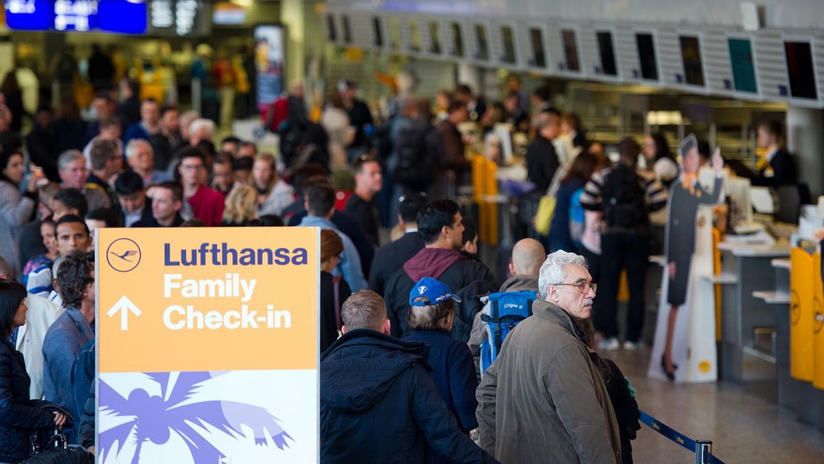 Lufthansa Strike Day 3: Nearly 800 Flights Cancelled