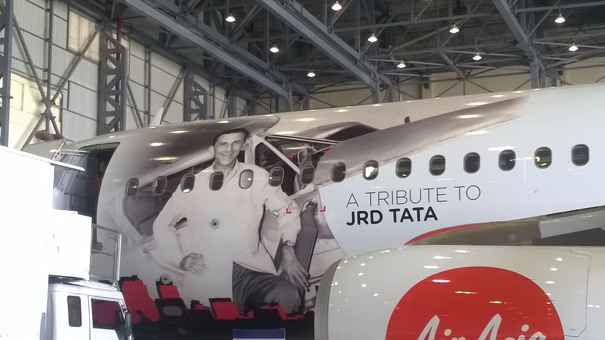 JRD Tata was India's first licensed pilot.