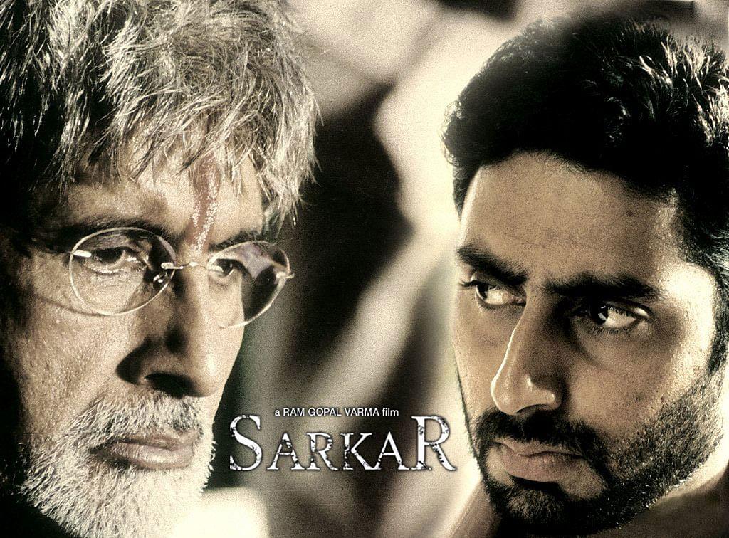 Amitabh Bachchan &amp; Abhishek Bachchan in Ram Gopal Verma's <i>Sarkar</i>