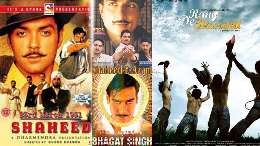 """<i>Rang De Basanti</i> (2006) was the only """"Superhit"""" film on Bhagat Singh. It raked in US$ 14 million and won the National Award for Best Popular Film. Ajay Devgn-starrer <i>The Legend of Bhagat Singh</i> was a dud at the box office but bagged two National Awards. &nbsp;  <!--EndFragment-->"""
