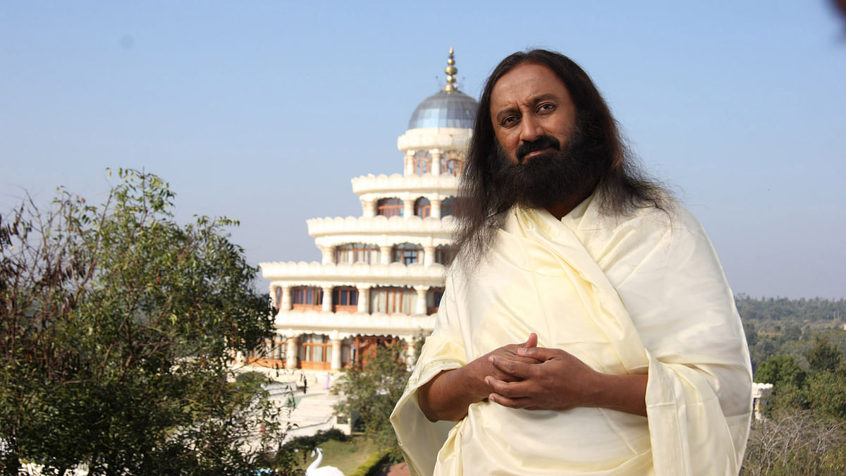 The Indian spiritual guru Sri Sri Ravi Shankar. (Photo Courtesy: Wikimedia Commons)