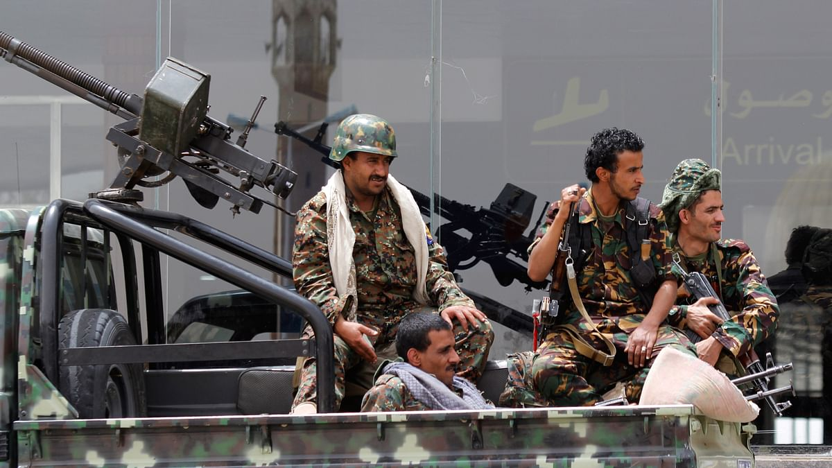 Residents of Sana'a report of airstrikes being carried out over Sunday night into Monday morning. (Photo: AP)