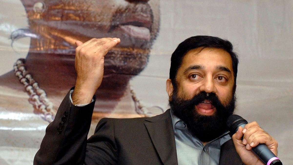 File photo of actor Kamal Haasan.