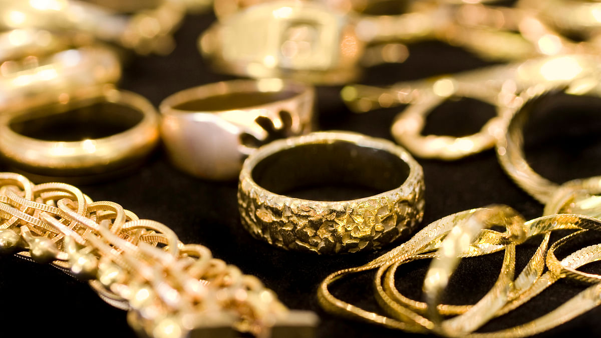 Gold prices hit a one-year high on Tuesday.