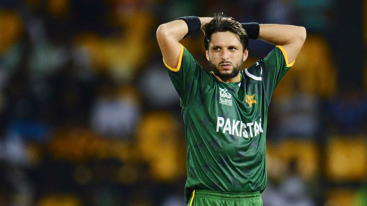 Pakistanallrounder Shahid Afridi said that he would quit playing if he feels that he's a burden on the team. (Photo: Reuters)